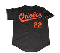 Jim Palmer Baltimore Orioles Black Jersey