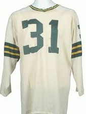 Jim Taylor Green Bay Packers Long Sleeve Vintage Style Throwback Football Jersey