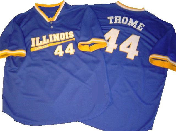 Jim Thome Illinois Central Cougars College Baseball Jersey
