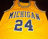 Jimmy King Michigan Wolverines College Basketball Jersey
