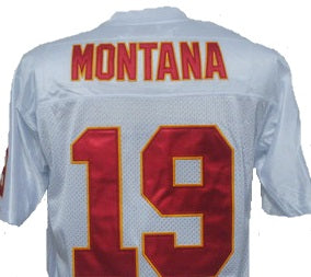 Joe Montana Kansas City Chiefs Throwback Jersey
