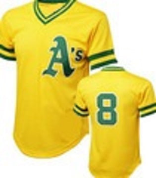 Joe Morgan Oakland A's Throwback Jersey