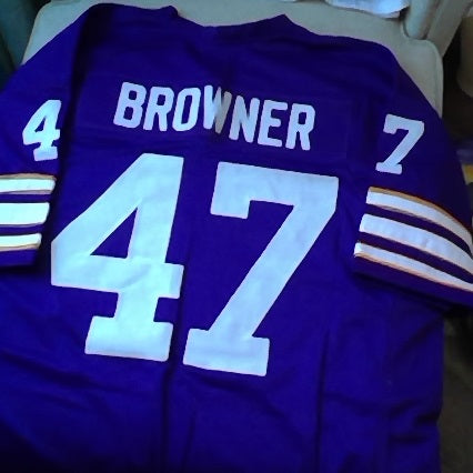 Joey Browner Minnesota Vikings Football Jersey (In-Stock-Closeout) Size 3XL/56 Inch Chest