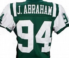 John Abraham New York Jets Throwback Football Jersey