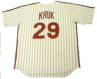 John Kruk 1992 Phillies Home Throwback Jersey