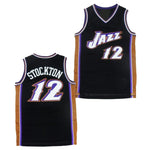 John Stockton Utah Jazz Throwback Basketball Jersey