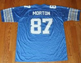 Johnnie Morton Detroit Lions Throwback Football Jersey