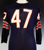 Johnny Morris Chicago Bears Vintage Style Football Jersey