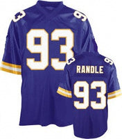 Jon Randle Minnesota Vikings Throwback Football Jersey