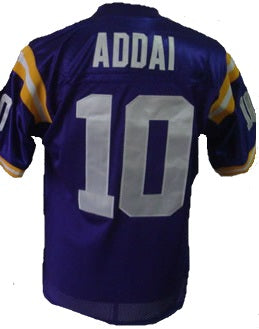 Joseph Addai LSU Tigers College Football Throwback Jersey