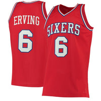 Julius Erving Philadelphia 76ers 1982-83 Throwback Basketball Jersey