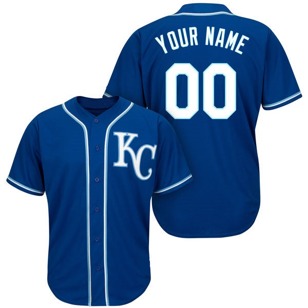 Kansas City Royals Customizable Baseball Jersey