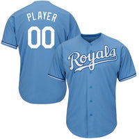 Kansas City Royals Style Customizable Baseball Jersey