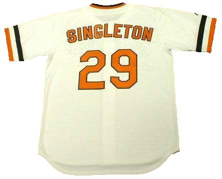 Ken Singleton 1983 Baltimore Orioles Throwback Baseball Jersey