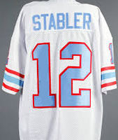 Ken Stabler Houston Oilers Throwback Football Jersey