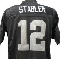 Ken Stabler Oakland Raiders Football Jersey