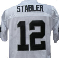 Ken Stabler Oakland Raiders Throwback Jersey