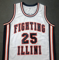 Kenny Anderson Fighting Illinis College Jersey