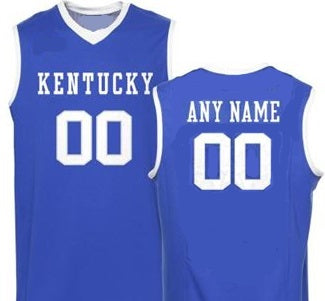 Customizable Kentucky Wildcats College Style Basketball Jersey