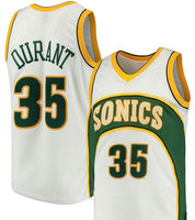 Kevin Durant Seattle SuperSonics Throwback Basketball Jersey