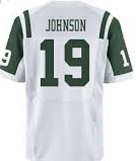 Keyshawn Johnson New York Jets Throwback Football Jersey