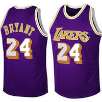 Kobe Bryant LA Lakers Throwback Basketball Jersey