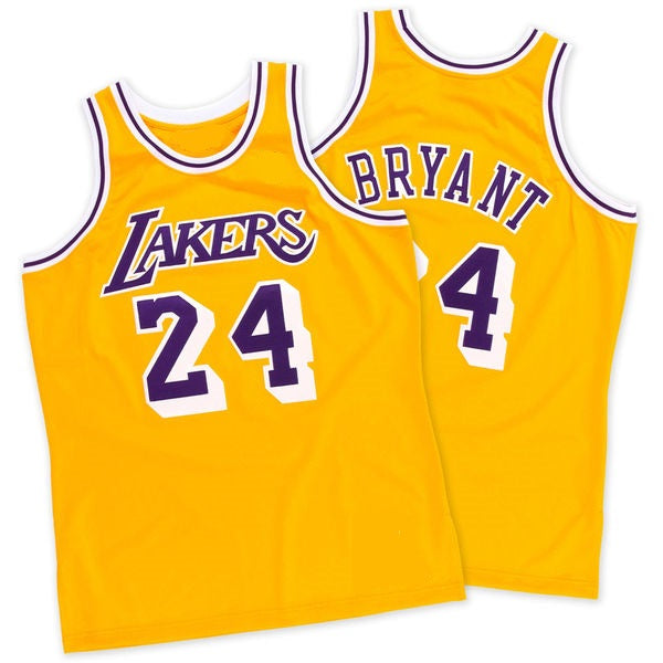 Kobe Bryant Los Angeles Lakers 2008 Throwback Jersey