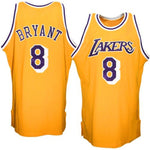 Kobe Bryant Los Angeles Lakers Gold 1996-1997 Jersey