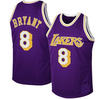 Kobe Bryant Los Angeles Lakers Purple 1996-1997 Jersey