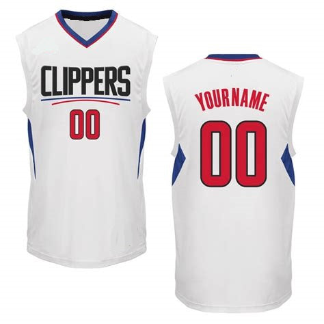 Customizable Los Angeles Clippers Pro Style Basketball Jersey