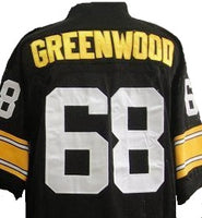 L.C. Greenwood Pittsburgh Steelers Throwback Football Jersey