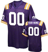 LSU Tigers Customizable Football Jersey