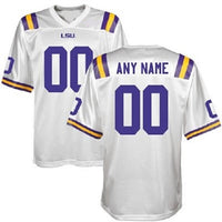 Customizable LSU Tigers Style Football Jersey
