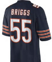 Lance Briggs Chicago Bears Football Jersey