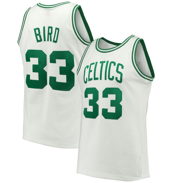 Larry Bird Boston Celtics 1985-86 Throwback Jersey