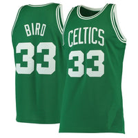 Larry Bird Boston Celtics Throwback Basketball Jersey