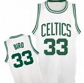 Larry Bird Boston Celtics Throwback Jersey (In-Stock-Closeout) Size Small/36 Inch Chest