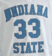 Larry Bird Indiana State College Basketball Jersey