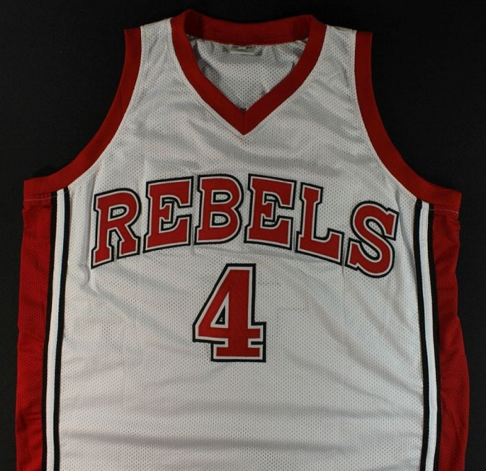 hot sales 3acc2 e8b8f Larry Johnson UNLV Running Rebels College Basketball Throwback Jersey