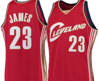 LeBron James Cleveland Cavaliers 2003-04 Red Jersey