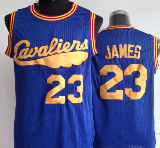 LeBron James Cleveland Cavaliers Blue Basketball Jersey