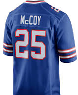 LeSean McCoy Buffalo Bills Throwback Football Jersey