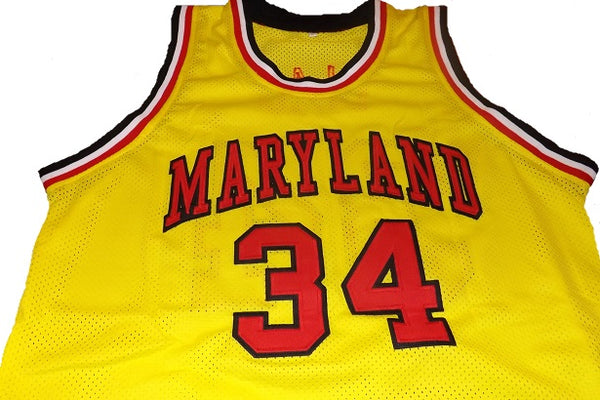 6be9b526433e Len Bias Maryland Terrapins College Basketball Jersey – Best Sports ...