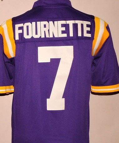 Leonard Fournette LSU Tigers College Football Jersey