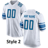 Detroit Lions Personalized Football Jersey