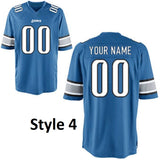 Detroit Lions Customizable Jersey
