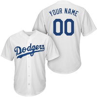 Los Angeles Dodgers Customizable Baseball Jersey