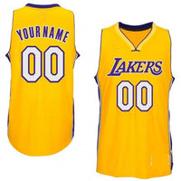 Los Angeles Lakers Style Customizable Basketball Jersey – Best ...