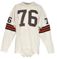 Lou Groza Cleveland Browns Long Sleeve Vintage Jersey