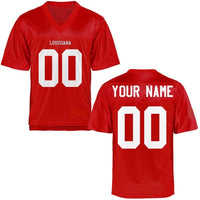 Customizable Louisiana-Lafayette Ragin Cajuns Style Football Jersey
